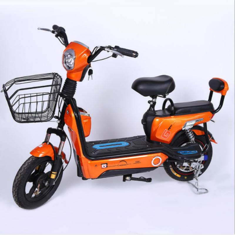 2018 дешевый Электрический велосипед 48 в 350 Вт с передним приводом и 2 сиденьями