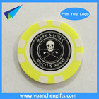 Poker Chips 2016 Custom Logo Printed On 2 Sides Poker Chips Golf Plastic Ball Marker