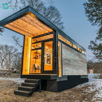 Travelman Well Designed Luxury Prefabricated Tiny Movable House