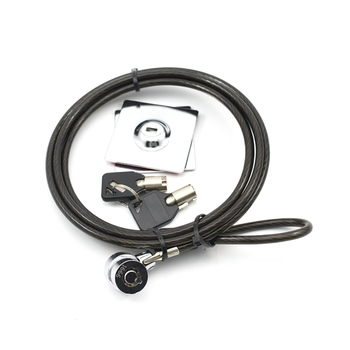 YH1651 Key Type pc lock laptop lock security cable computer lock