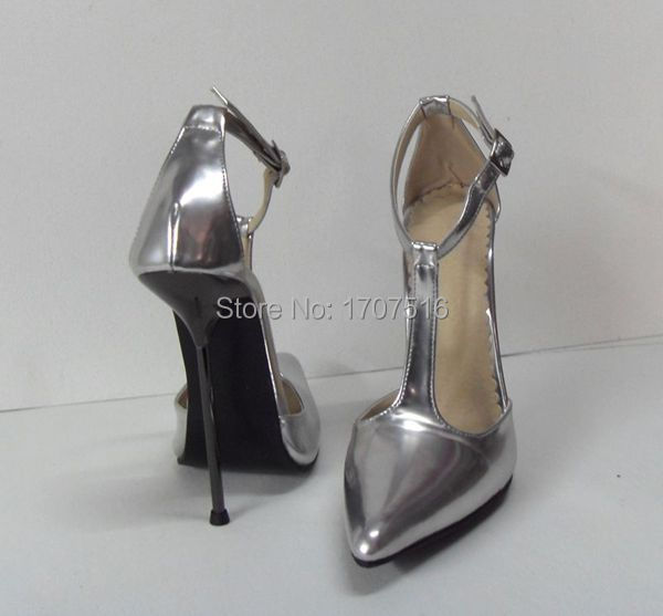 6 inch fetish pumps pointed toe