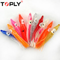 20 Pcs 4CM 0 433g Fish Squid Hook Offshore Soft Angling Colorful Deep Sea Artificial Bait