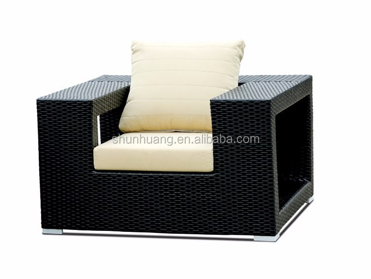 Самый удобный уличный плетеный диван, пляжная мебель из ротанга