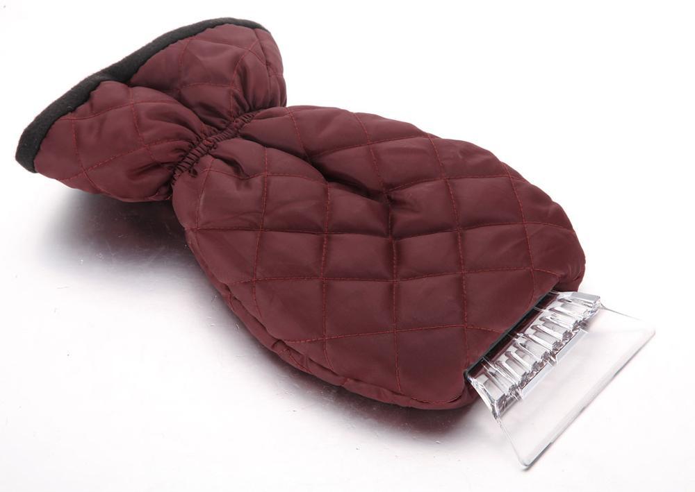 Waterproof Car ice scraper with glove
