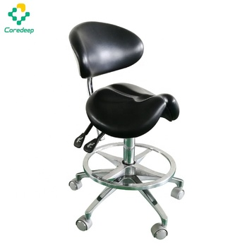 Wholesale medical dental chair mobile saddle stool