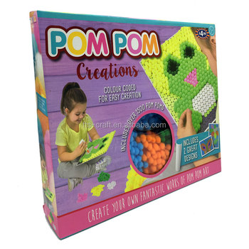 Creat Your Own Fantastic PomPom Craft Kits