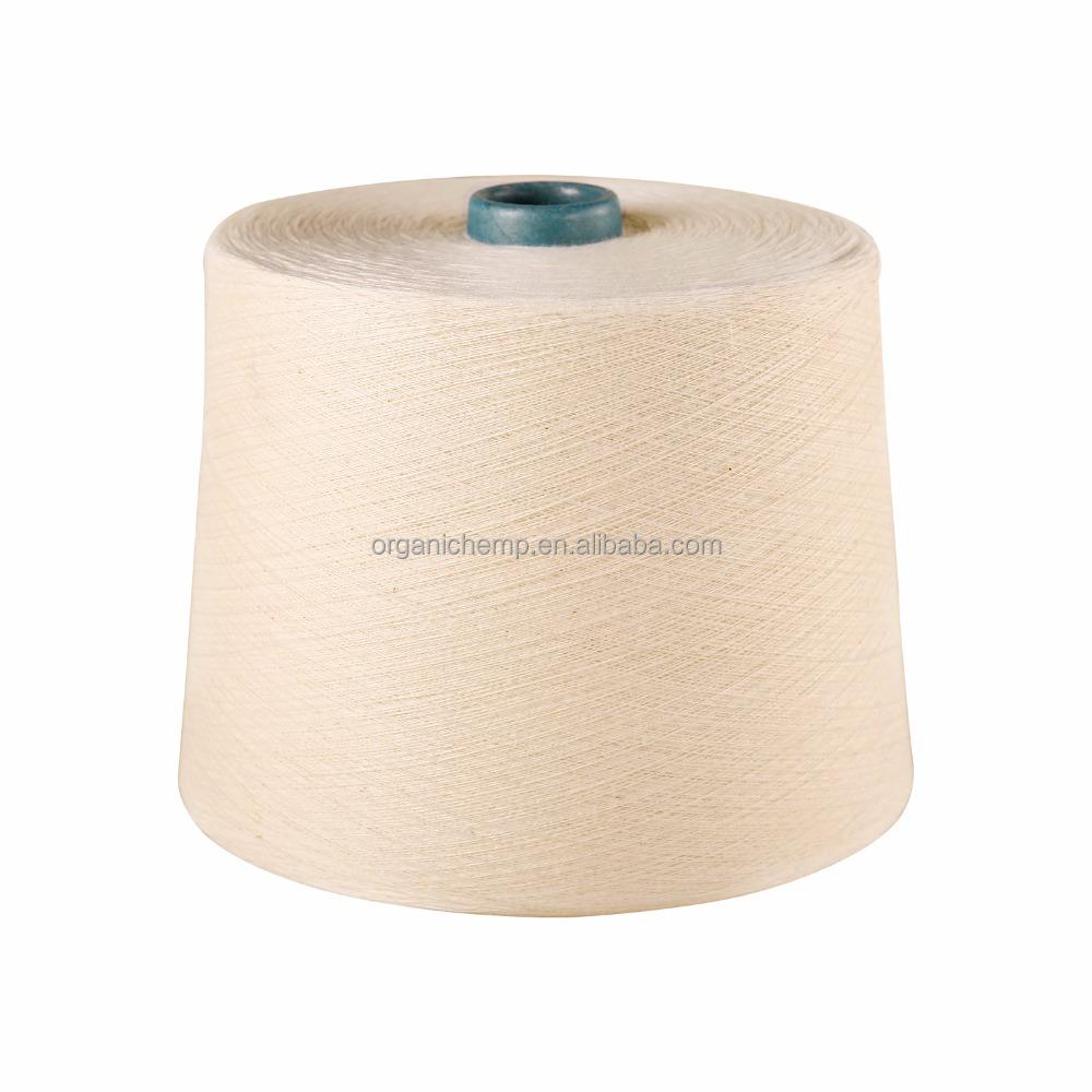 Высококачественная NOP сертифицированная 100% Органическая хлопковая пряжа для вязания