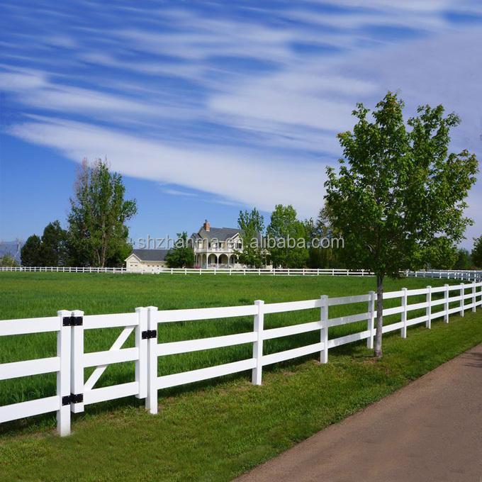 Pvc Vinyl Plastic Horse Farm Fence Buy Farm Horse Fence Plastic Vinyl Fence Pvc Fence Product On Alibaba Com