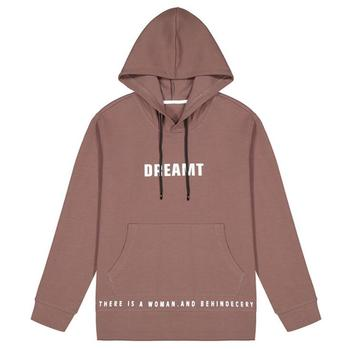 OEM Garment Factory Solid Color Hooded Oversized Unisex Pullover Design Your Own Hoodie