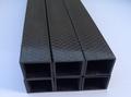 Square full carbon fiber tube 10 X 10 X 8 X 500MM Multi rotor use 3K