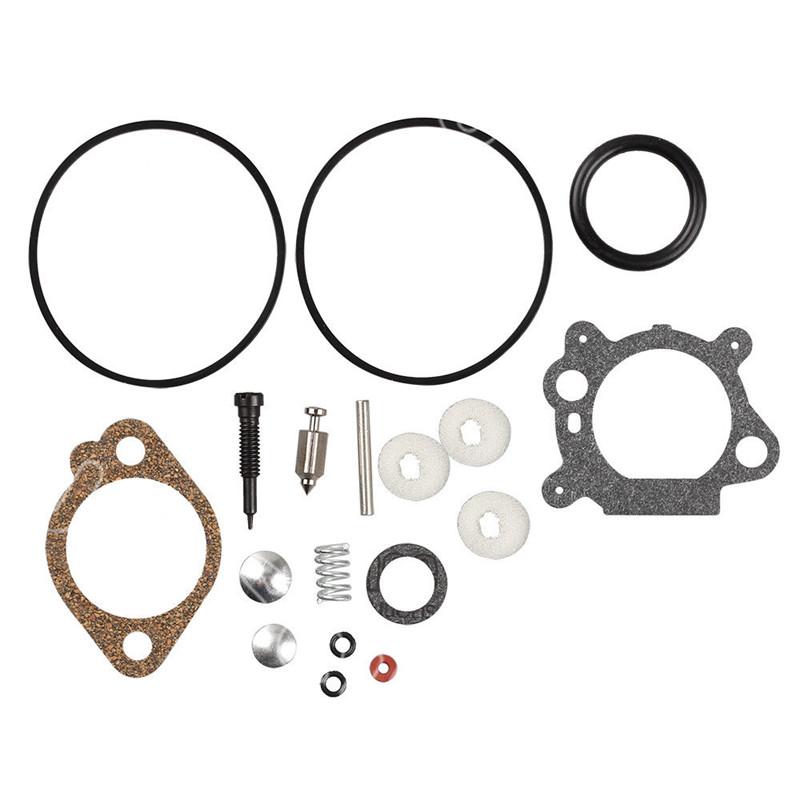 Juego de reparaci/ón de carburador de carburador surtido de juntas de carburador para Briggs Stratton Quantum Max Engine 398183//498261//490937
