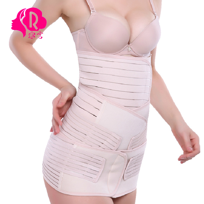 Maternity belly band postpartum abdomen with maternity girdles abdomen with closed gastric band pelvis belt three