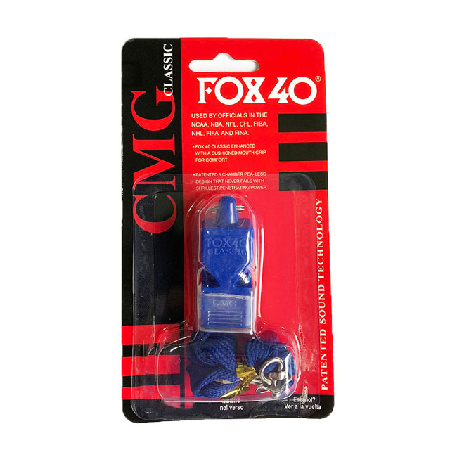 High Quality Outdoor Survival Whistle FOX-40 Whistle With Lanyard Sport Whistle Fox