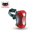 CATEYE Retail Factory Sale Cycling Safety Bike Bicycle Led Front Rear Light Lamp Flashlight Red