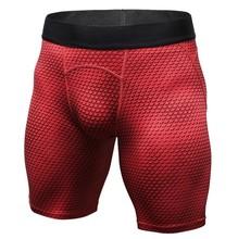 Muscleguys, мужские Компрессионные шорты, лето 2020, 3d принт, бермуды, шорты для фитнеса, мужские, Cossfit, бодибилдинг, колготки, быстросохнущие шорты(Китай)
