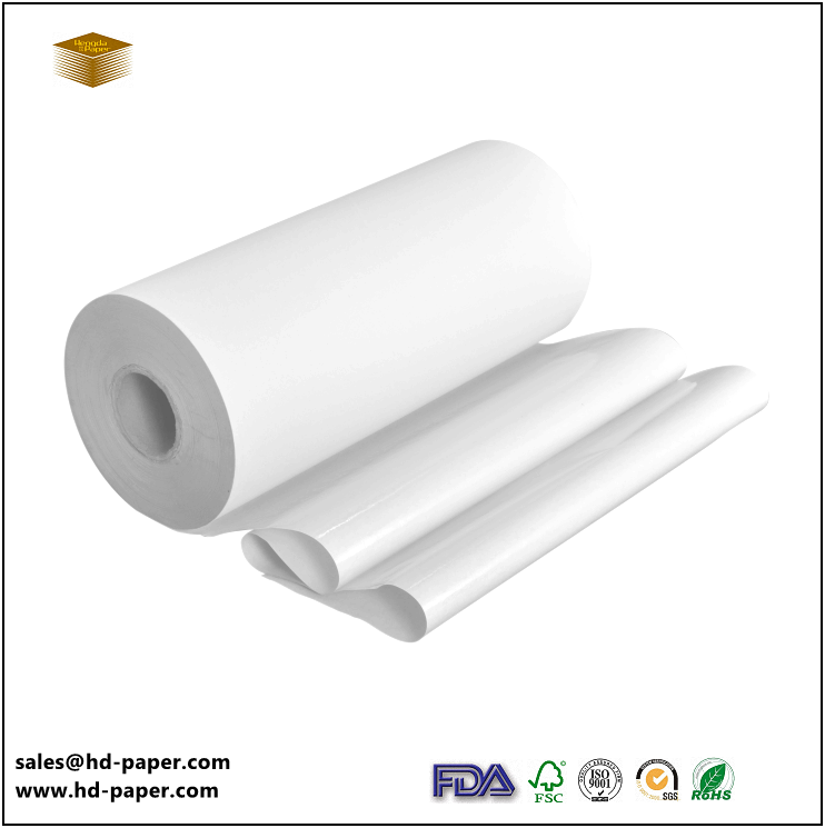 PE coated White Kraft Food Wrapping Paper