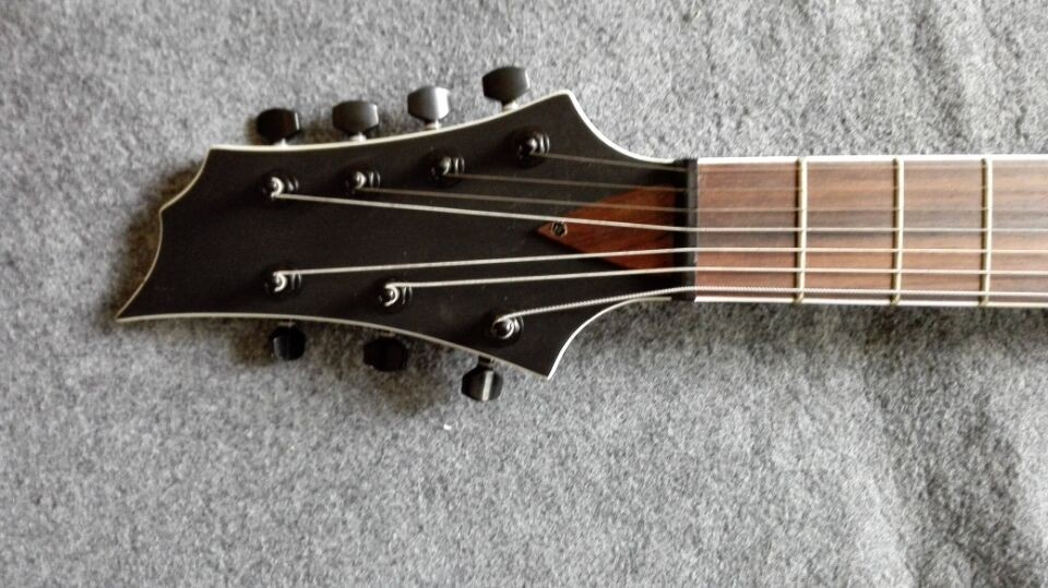wholesale 7 string electric guitar ashwood map pattern tree burl pattern cheap acoustic electric. Black Bedroom Furniture Sets. Home Design Ideas