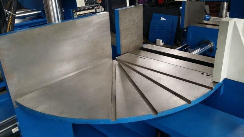 CHINA LOGINFLY CE 45 degree angle rotate metal cut band saw machine