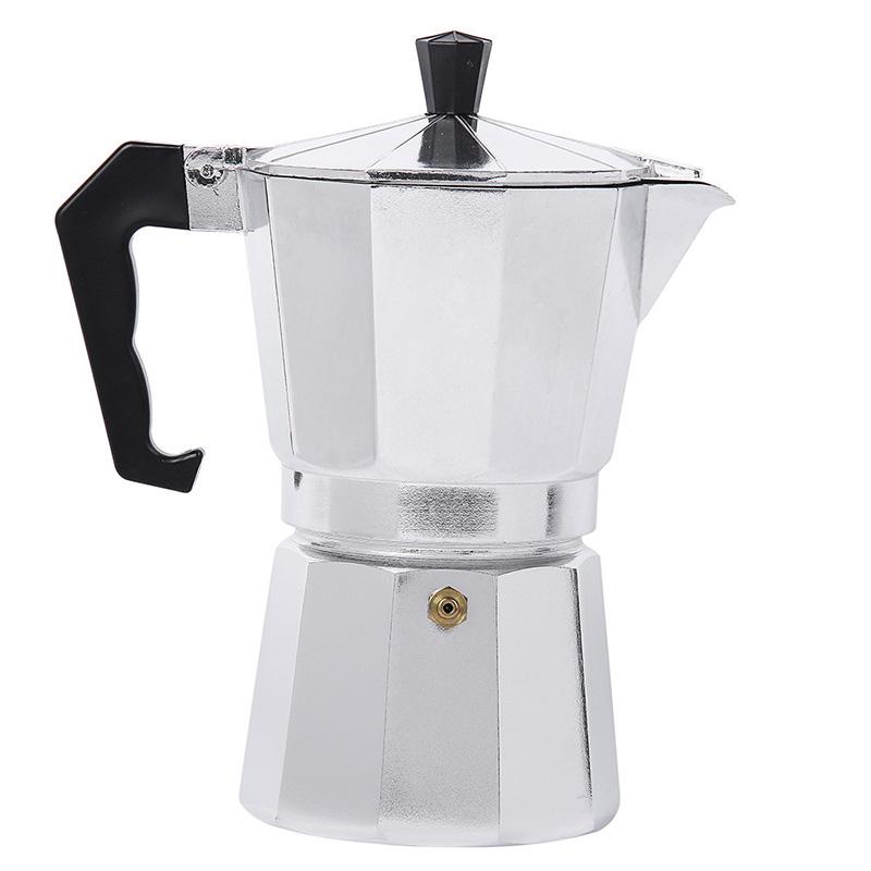 Алюминиевая кофеварка, машина, кружка, эспрессо, мокко, кофейник, Континентальный кофейник, Турция, восьмиугольный кофейник, инструменты(Китай)