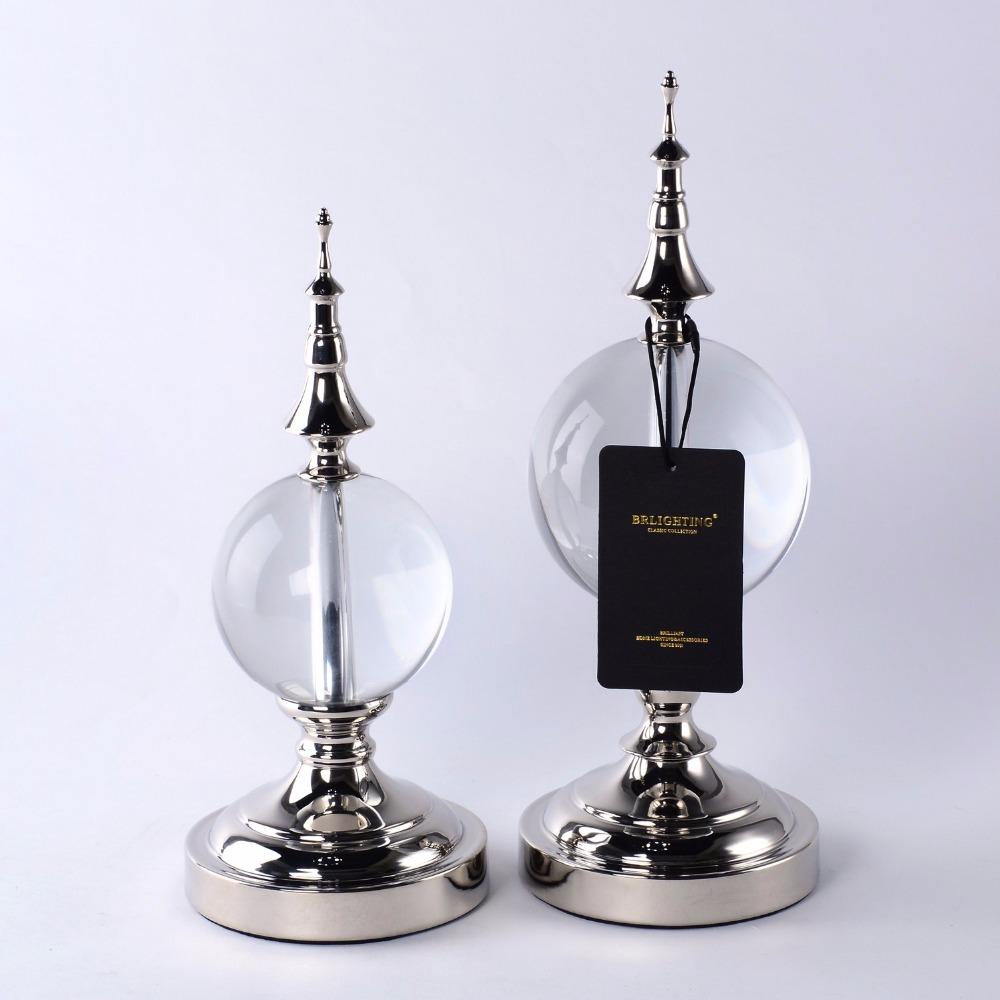 Полировка для отеля, ресторана, домашние украшения, Хрустальный никелевый шар в подарок