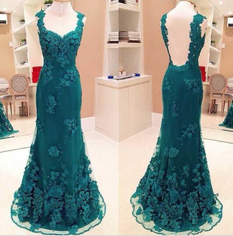 Aliexpress.com : Buy 2015 Sexy Mermaid Dark Green Evening ...