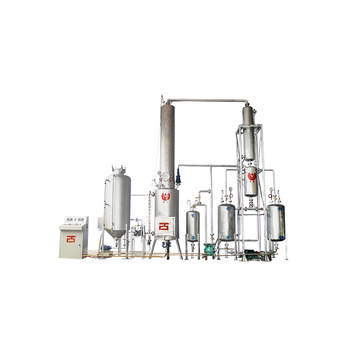 lubricant oil recycle machine/used car motor oil distillation/ engine oil refining plant