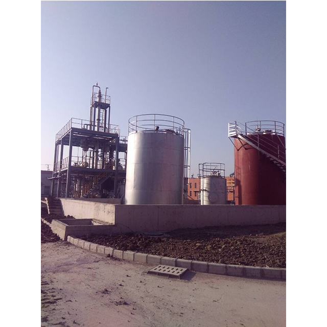 used oil refining biodiesel production plant glycerin recovery refine equipment