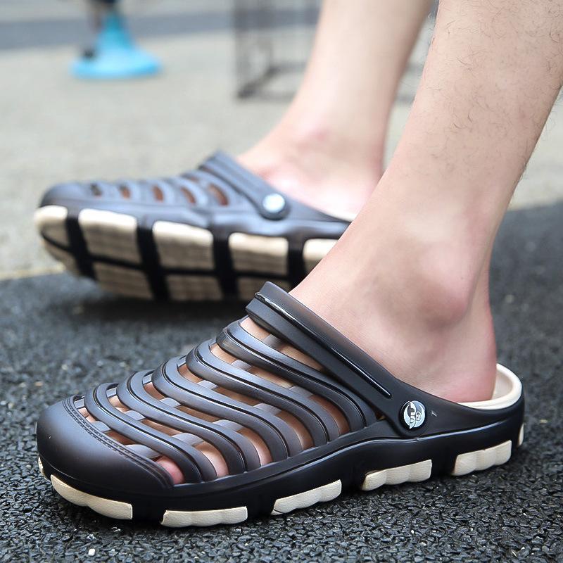 new design Summer ODM OEM men holeys clog