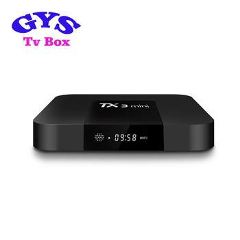 Wholesale Android tv box 4k Amlogic S905w Smart TV Set Top Box Android 7.1 TX3 MINI 2gb 16gb Smart TV Box