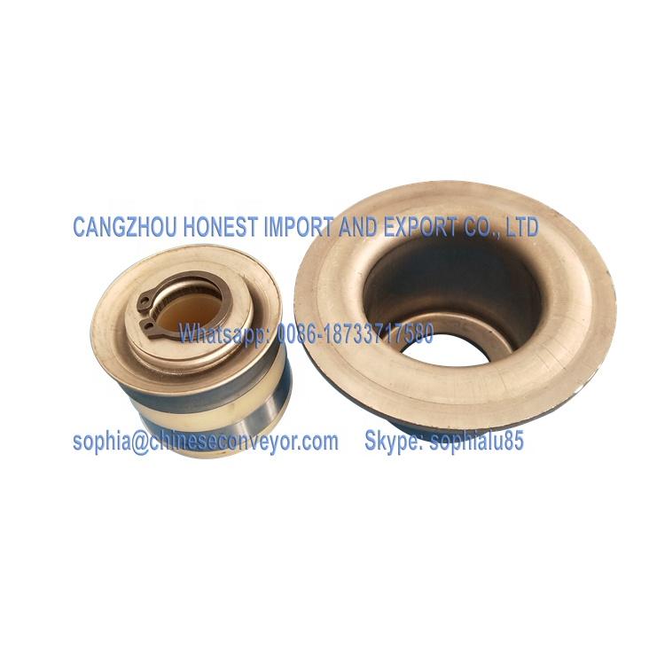 China standard DTII type stamping belt conveyor bearing housing and seals
