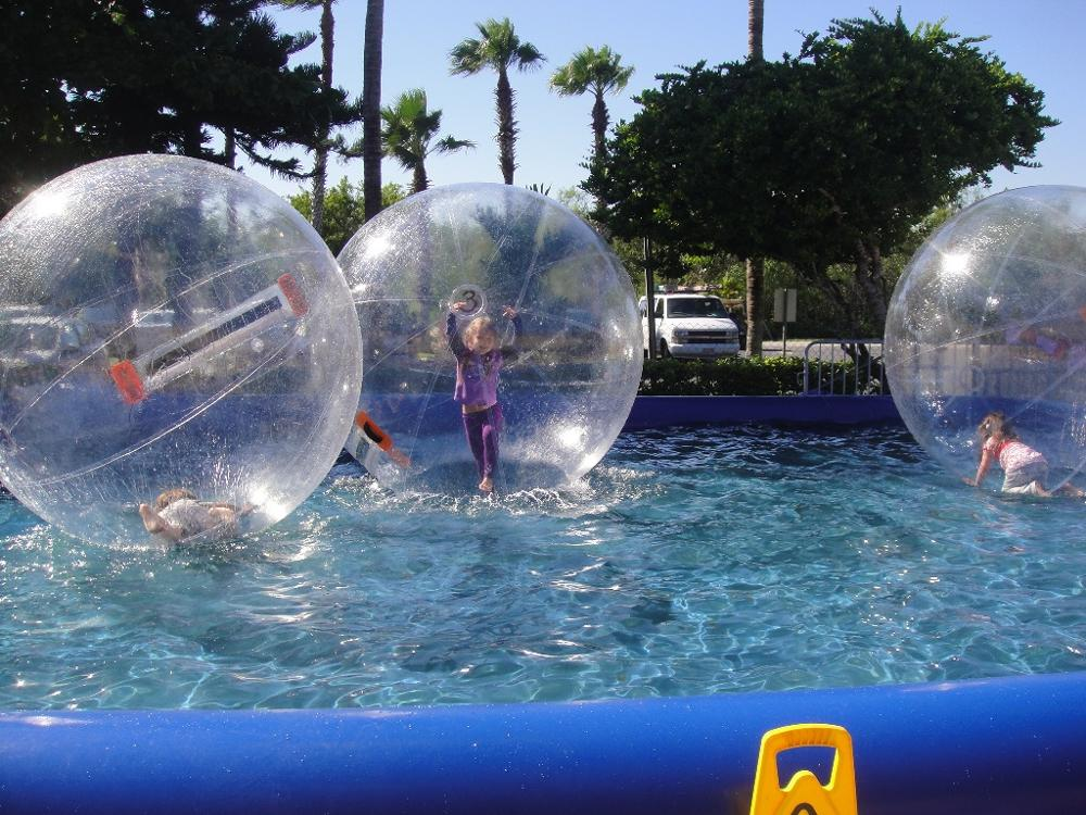 Hot sale floating ball for people, inflatable pvc water ball, water walking ball for people walking on water