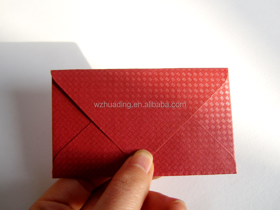 Blue Colours Mini Gift Envelope For Gift Embossed Paper Cards