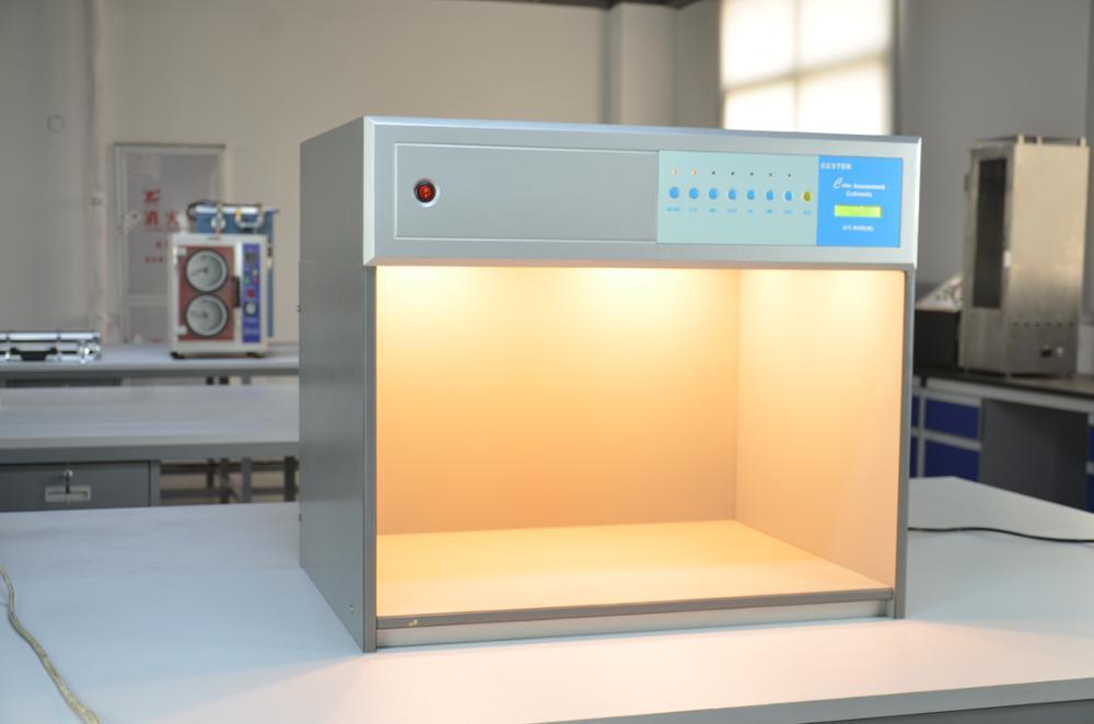 Шкаф с цветовой оценкой, световой короб Verivide для текстиля