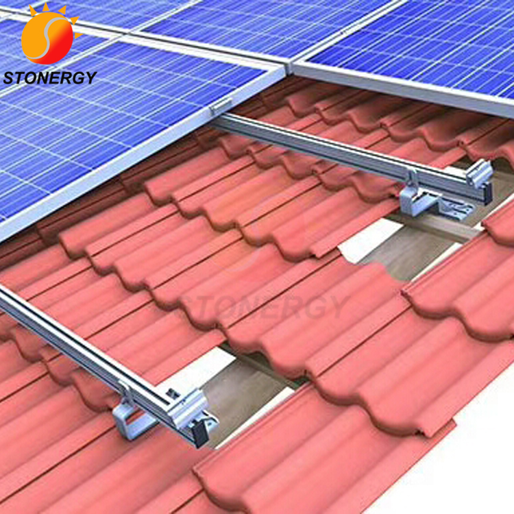Solar Panels On Tile Roofs