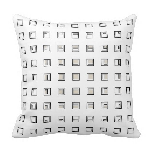 Medium Artsy Classy Bone Pillow Case (Size: 45x45cm) Free Shipping