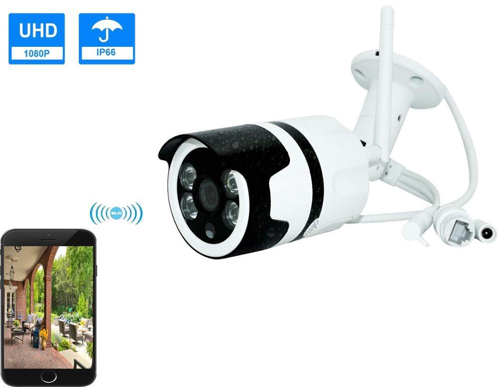 Беспроводная IP-камера с поддержкой Wi-Fi, p2p, 2 МП, HD1080P
