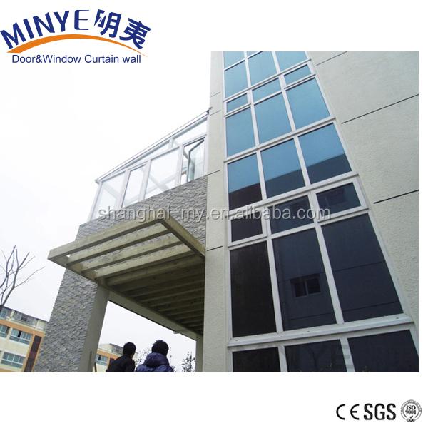 Алюминиевый система вентилируемых фасадом структурные стеклянные стены занавеса