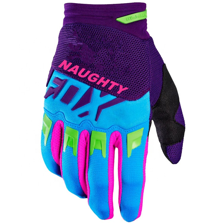 Customized Motocross Gloves Mens Off-road MX MTB DH Mountain Bike Downhill Cycling Gloves Motos Luvas Guantes