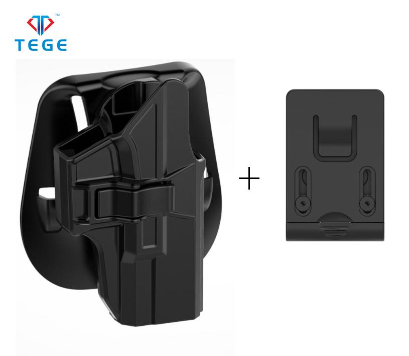 Тактическая кобура для пистолета Glock 19/23/32/19x с новым дизайном весла и зажимом для ремня