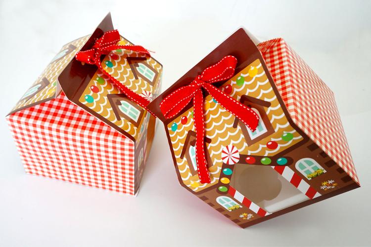Aliexpress.com : Buy Christmas house candy box/ 4 hole ...