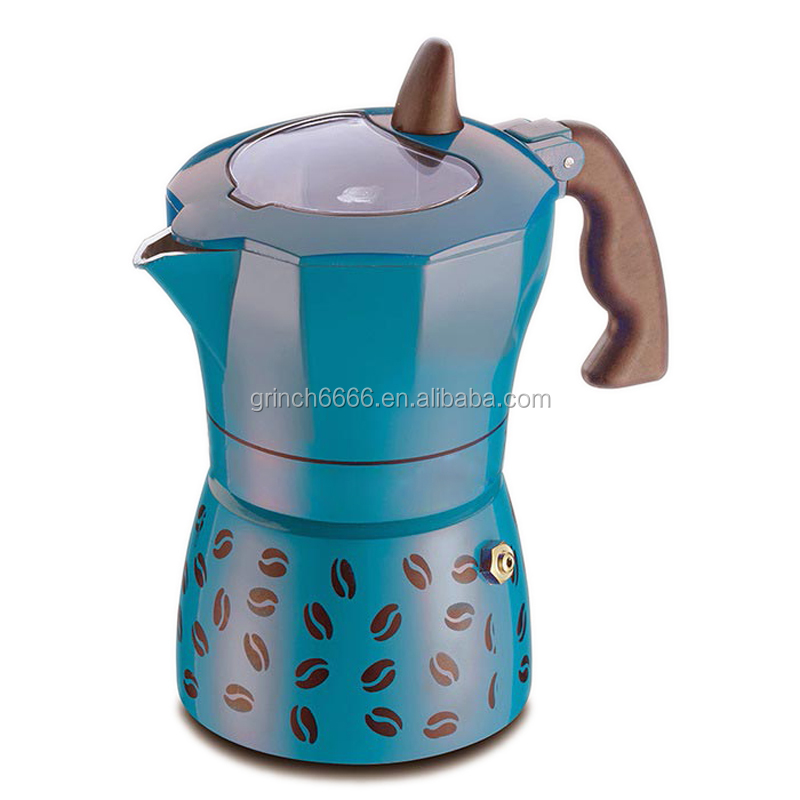 Moka Pot Coffee Maker For Gas Or Electric Stove Top 6 Cups Demitasse Espresso Shot Maker For Italia Buy Stovetop Espresso Maker Moka Pot Coffee Maker For Gas Or Electric Stove