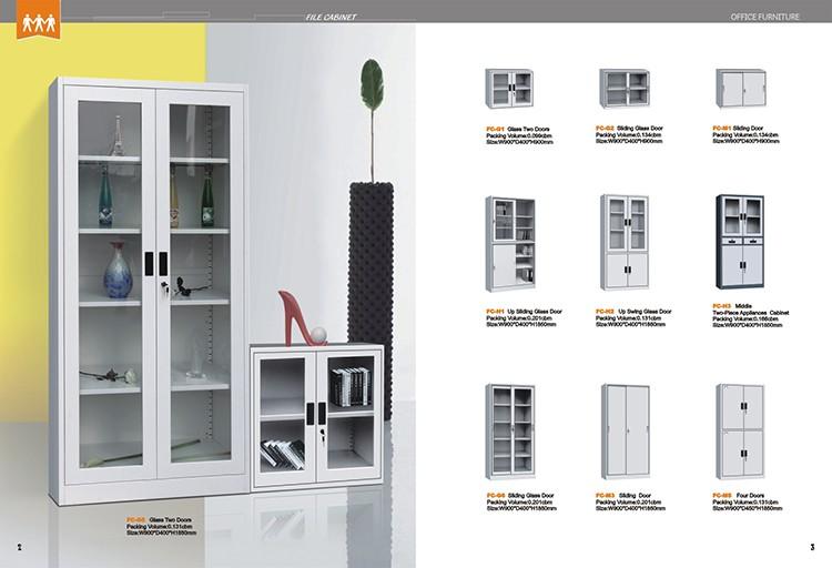 Todo el acero de espesor superior lateral archivador muebles para el hogar armario de me<em></em>tal Venta al por mayor, la fabricación, la producción