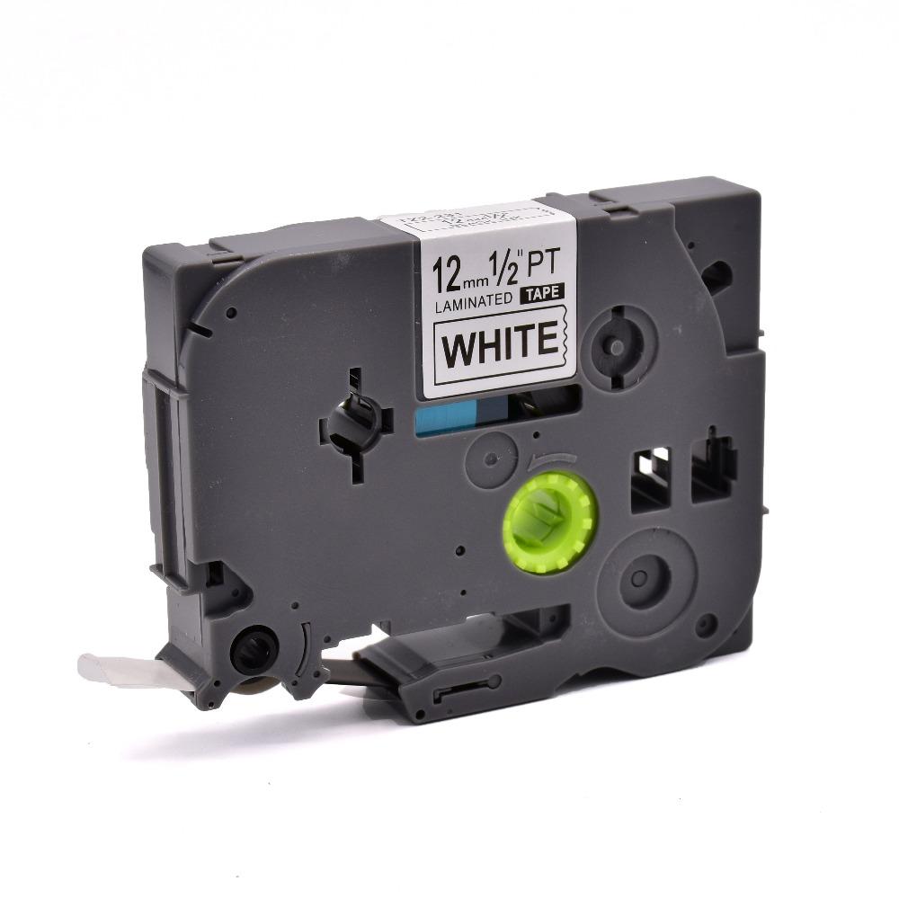 Совместимые с PUTY P-touch принтеры TZe 231 пустые цветные кассеты этикетки ленты