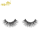 Human Hair Eyelashes The Eyelash Natural Hand Made Knot Free Human Hair Eyelashes