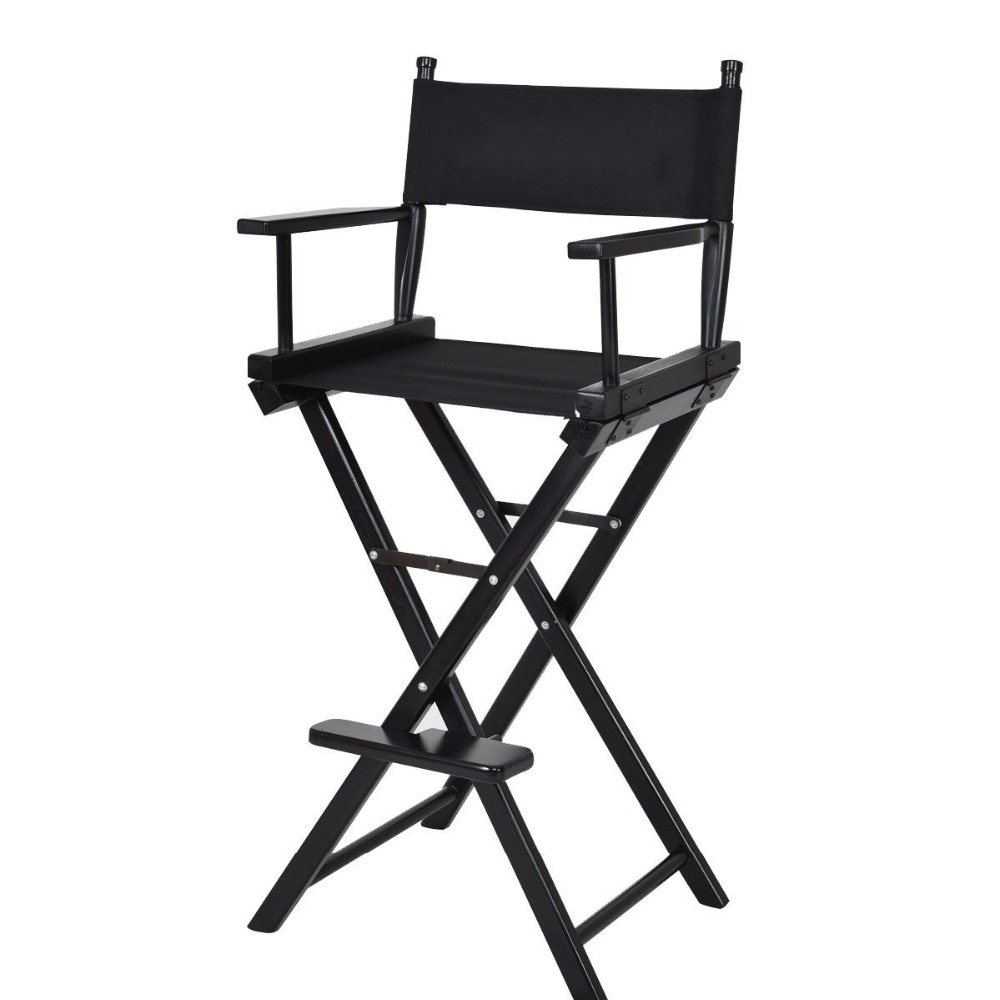2018 Foldable Black New Professional Makeup Artist Directors Chair Buy Wooden Director Chair Folding Director Chair Tall Directors Chair Product On Alibaba Com
