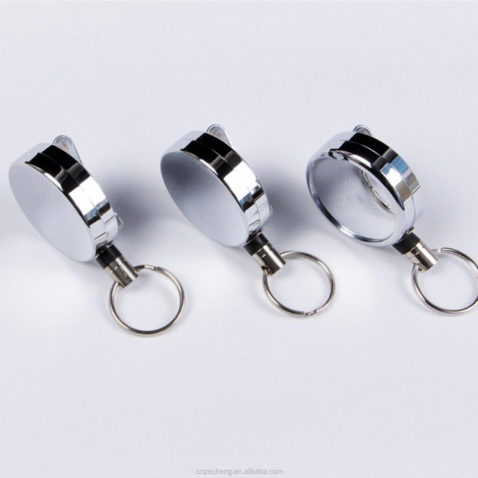 Рекламная Выдвижная металлическая катушка с логотипом на заказ