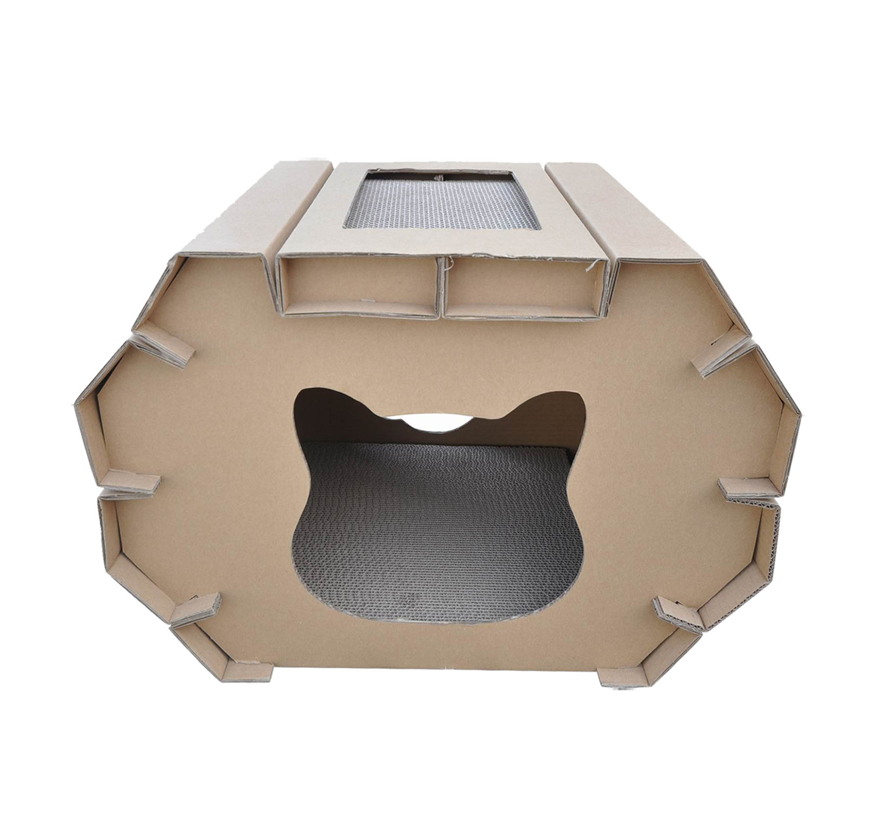 Eco Friendly Indoor Cardboard Cat House For Hot Sale Pet House Cats Buy Cat House Cardboard Cat House Indoor Cat House Product On Alibaba Com