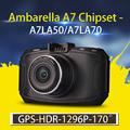 Ambarella A7 Car DVR GS90C GS90A G90 Car Camera 1296P FullHD DVR Recorder with Night Vision