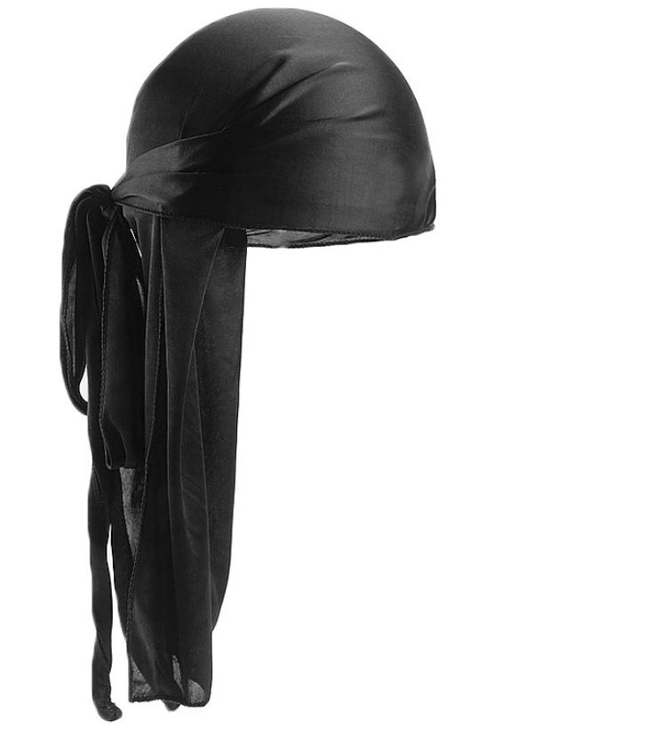 B111 Fashion Satin Durags Bandana Turban Wigs Silky Durag Headwear Headband Pirate Hat Hair Accessories