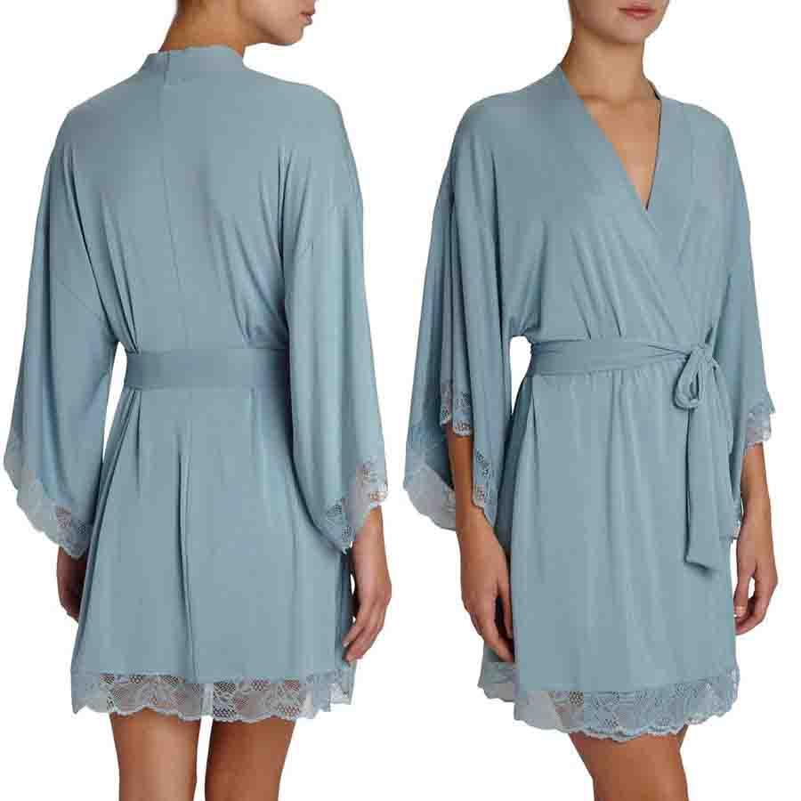 Women Short Robe For Ladies Long Sleeve Plain Dyed Sleepwear Ladies Night Robe Buy Women Short Robes Long Sleeve Satin Robe Ladies Night Robe Product On Alibaba Com